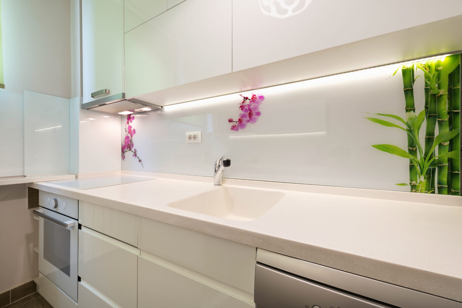Paraschizzi in vetro per la tua cucina - Glass Solutions - Palermo